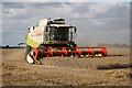 SK8770 : Harvest in Black House Field by Richard Croft