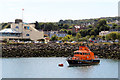 O2839 : Lifeboat in Howth Harbour, Ireland by Christine Matthews