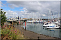 O2839 : Howth Harbour, Ireland by Christine Matthews