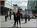 SJ3490 : Street entertainment, Liverpool by Eirian Evans