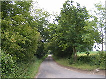 TM2557 : The Entrance to Seven Stars Farm by Adrian Cable