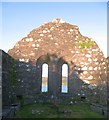 NM7701 : Kirkton Chapel interior by Gordon Hatton
