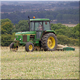 TA0114 : Cultivating near Middlegate Farm by David Wright