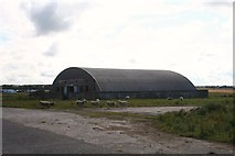 NK0657 : Airfield Hangar by Andrew Wood