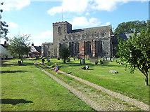 TM1763 : St Mary Magdalene Church, Debenham by Helen Steed