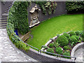 TQ3281 : Sunken Garden, Barbican, London by Christine Matthews