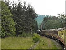 SE8191 : North Yorkshire Moors Railway, Newton Dale by David Dixon