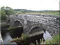 SN6761 : Disused bridge, Pont Einon by John Lord