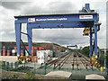 SP2599 : Birmingham Intermodal Freight Terminal, Birch Coppice by Robin Stott
