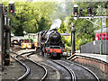 SE7984 : 45428 Eric Treacy Arriving at Pickering Station by David Dixon