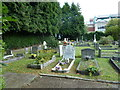 TQ2636 : Friary Church of St Francis and St Anthony, Crawley- churchyard by Basher Eyre