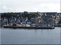 HU4741 : Lerwick: Victoria Pier from out on the water by Chris Downer