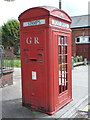 NZ3571 : Whitley Bay: very rare K4 telephone box by Chris Downer