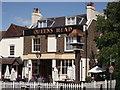 TQ4370 : Queens Head Public House, Chislehurst by David Anstiss