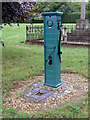 SK7414 : Village pump, Great Dalby by Alan Murray-Rust