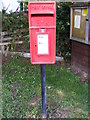 TM4575 : Highfields Postbox by Adrian Cable