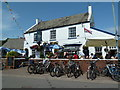 SX9884 : The Swan Inn, Lympstone by Chris Allen