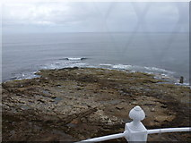 NZ3575 : Whitley Bay: looking seaward from St. Mary's lighthouse by Chris Downer