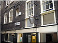 TQ3280 : Ancient Lights sign on St Christopher's Inn, Borough by PAUL FARMER