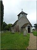 SU5846 : Dummer - All Saints Church: north-west aspect by Basher Eyre