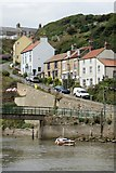 NZ7818 : Cowbar Bank, Staithes by Dave Hitchborne
