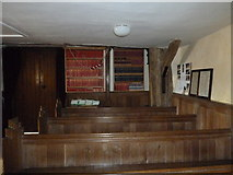 SU5846 : Dummer - All Saints Church: looking towards the hymn books by Basher Eyre