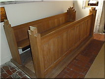 SU5846 : Dummer - All Saints Church:  choir stalls by Basher Eyre