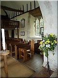 SU5846 : Dummer - All Saints Church: looking from the chancel into the nave by Basher Eyre