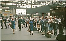 TQ3179 : Waterloo concourse in 1967 by Ben Brooksbank