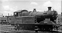 ST1974 : Ex-Taff Vale 0-6-2T in Locomotive Yard at Cardiff East Dock by Ben Brooksbank