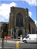 TQ3179 : St George's Catholic Cathedral, Lambeth Road SE1 by Robin Sones
