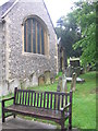SU7074 : East end of St. Peter's Church, Caversham by Virginia Knight