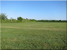 TL3142 : Playing fields, Litlington by Hugh Venables
