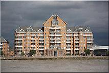 TQ3778 : Cyclops Wharf by Richard Croft