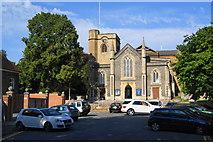 TQ2160 : St Martin's, Epsom by Bill Boaden