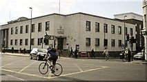 TQ2775 : Lavender Hill Police Station, Lavender Hill SW11 by Robin Sones