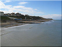 TG2142 : Cromer western sea front by E Gammie