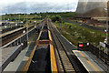SK4929 : A coal train passes through East Midlands Parkway station by Phil Champion