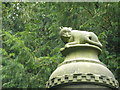 SJ9922 : The Cat's Monument, a close-up by Peter Barr