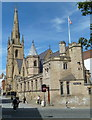 SK3587 : Cathedral Church of St Marie, Sheffield by Andrew Hill
