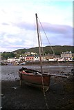 NR8668 : Loch Fyne Skiff at Tarbert by Andrew Wood