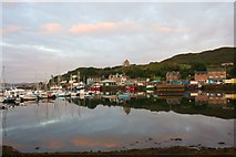 NR8668 : Tarbert Harbour by Andrew Wood