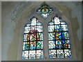 SU7347 : All Saints, Long Sutton: stained glass window (c) by Basher Eyre