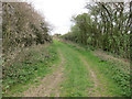 TL4676 : North Fen Drove byway by Hugh Venables