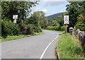 SN8416 : Weak bridge, Pont Haffes, Glyntawe by Jaggery