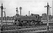 SU5290 : New type of GW Pannier Tank engine at Didcot by Ben Brooksbank