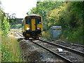 SU0390 : Local train to Gloucester from Swindon, near Minety by Brian Robert Marshall