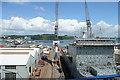 SW8132 : Queen Elizabeth Dock by Graham Horn