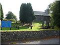 SN4760 : Eglwys St. Non, Llanerchaeron by Jeremy Bolwell