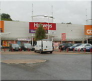 ST2995 : Harveys The Furniture Store, Cwmbran Retail Park by Jaggery
